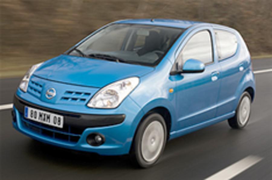 Nissan Pixo prices up £1000