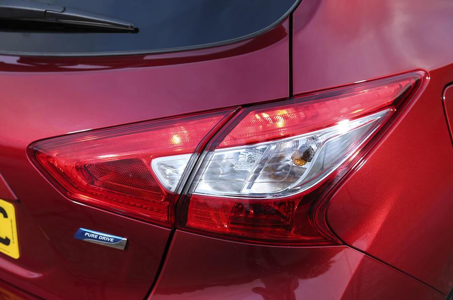 Nissan Pulsar rear lights