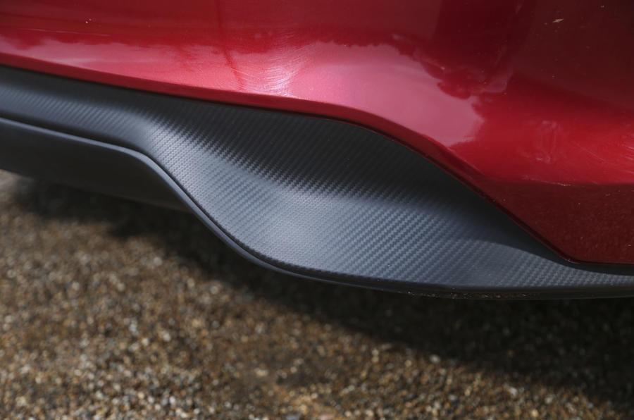 Nissan Pulsar rear diffuser