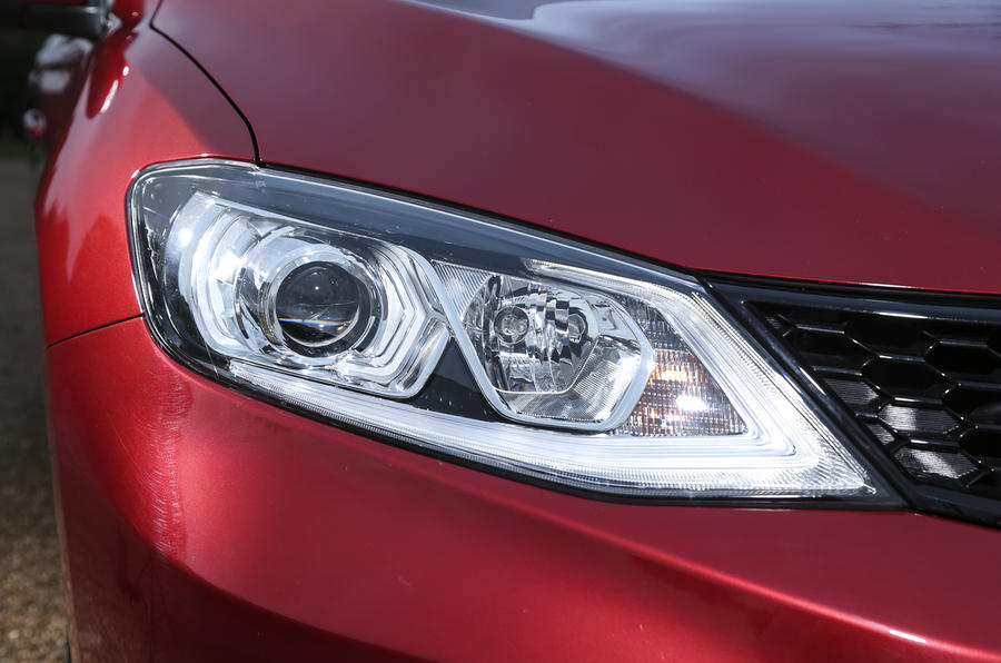 Nissan Pulsar LED headlights