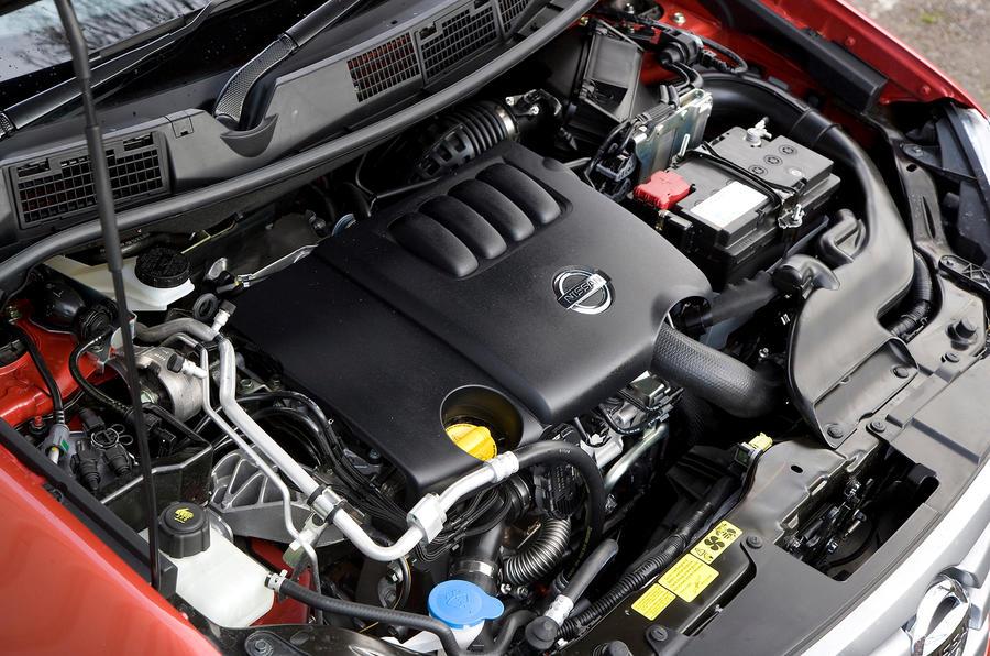2.0-litre Nissan Qashqai turbodiesel engine