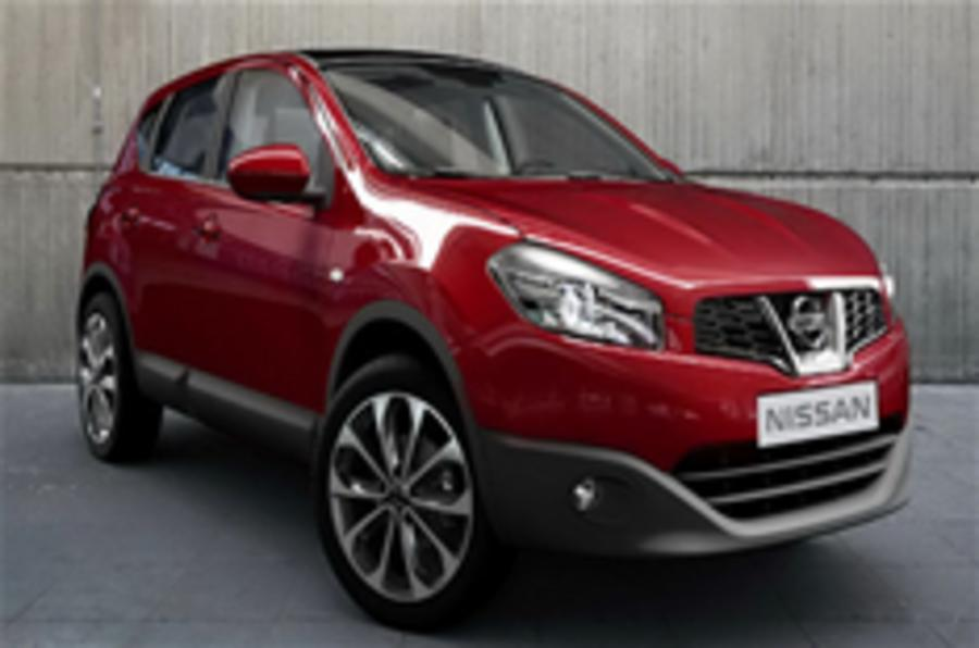 Nissan Qashqai facelift revealed