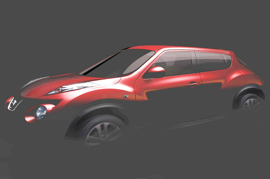 Nissan Juke crossover revealed