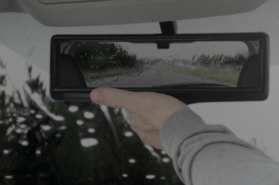 Nissan Reveals Clever Led Rear View Mirror Tech Autocar