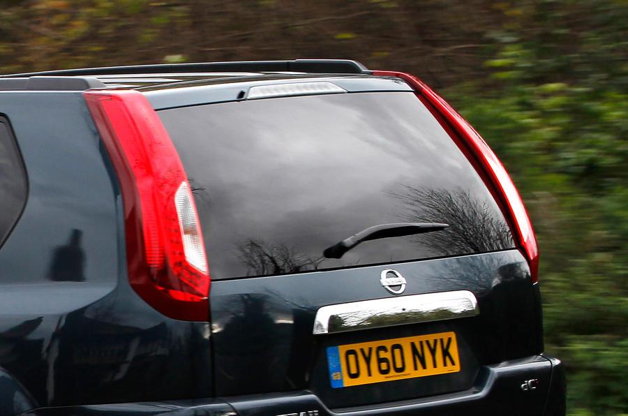 Nissan X-Trail rear lights