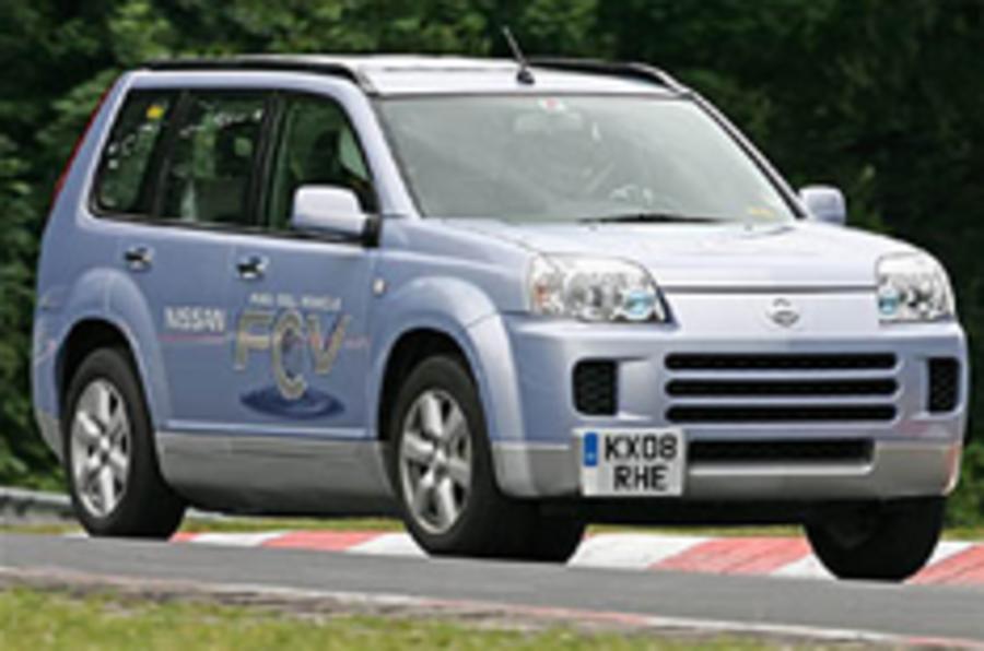 Nissan mulls fuel cell sportscar