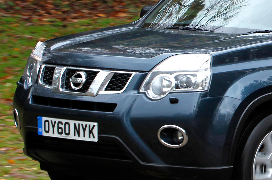 Nissan X-Trail front grille