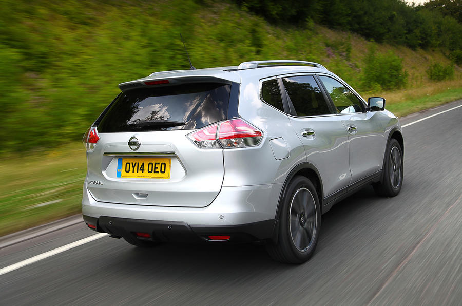 nissan x trail 1 6 dci n tec uk first drive. Black Bedroom Furniture Sets. Home Design Ideas