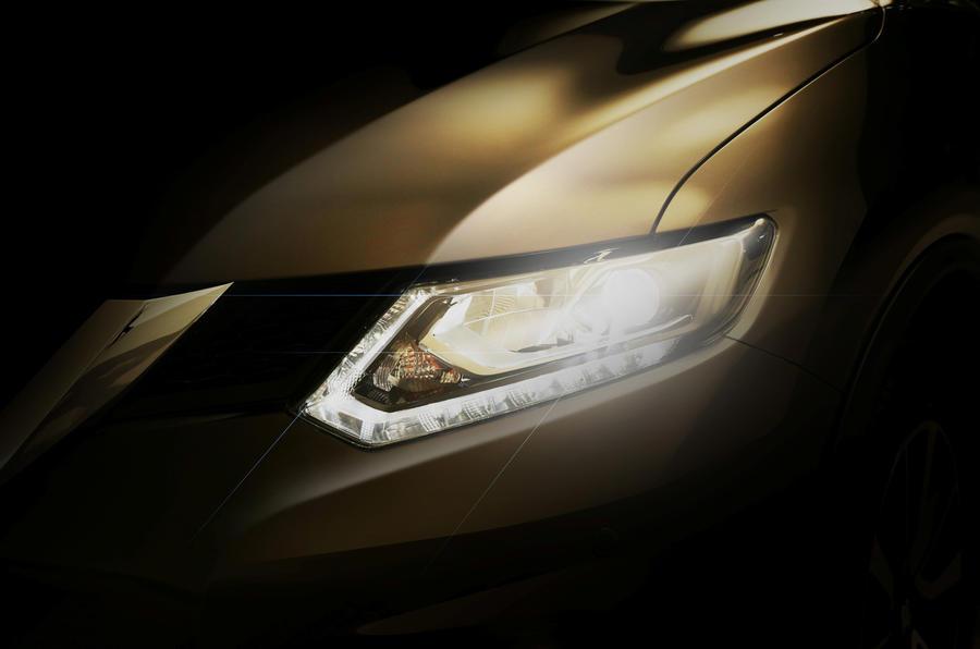 New Nissan X-Trail for Frankfurt reveal