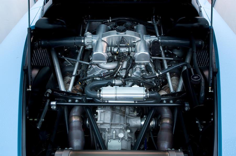 Noble M600 4.4-litre V8 engine