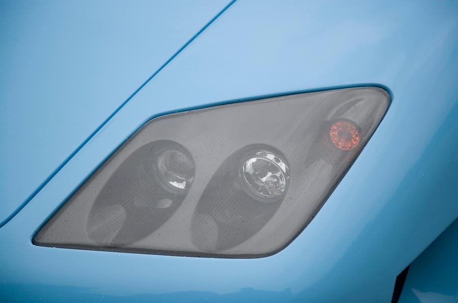 Noble M600 headlight