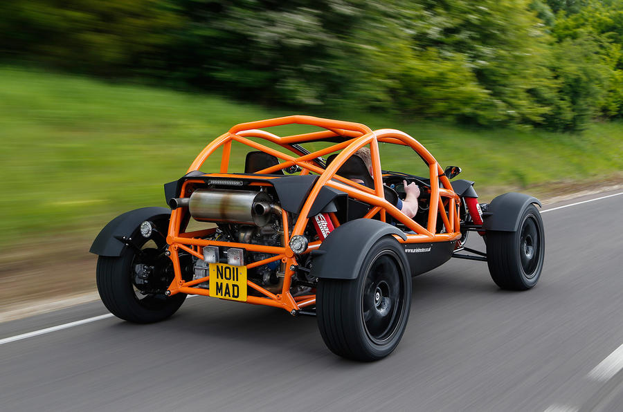 Rear of the Ariel Nomad