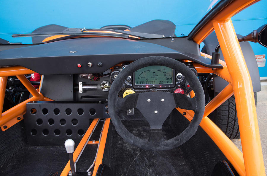 ariel nomad interior autocar. Black Bedroom Furniture Sets. Home Design Ideas