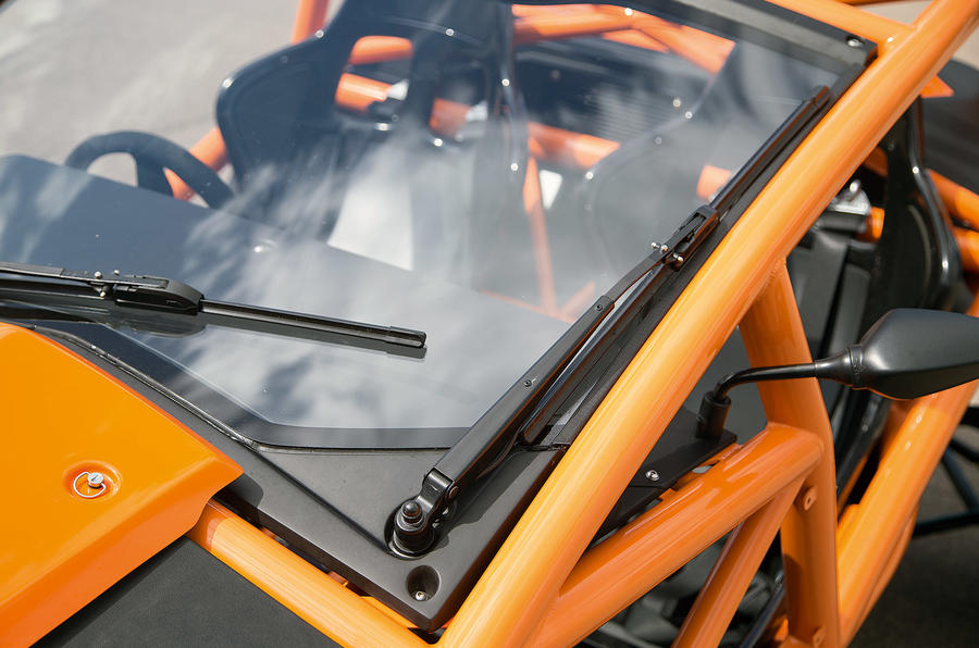 Ariel Nomad's windscreen