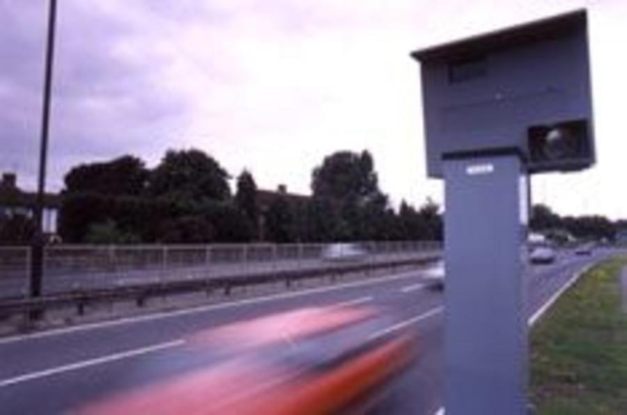 Warning to speeders
