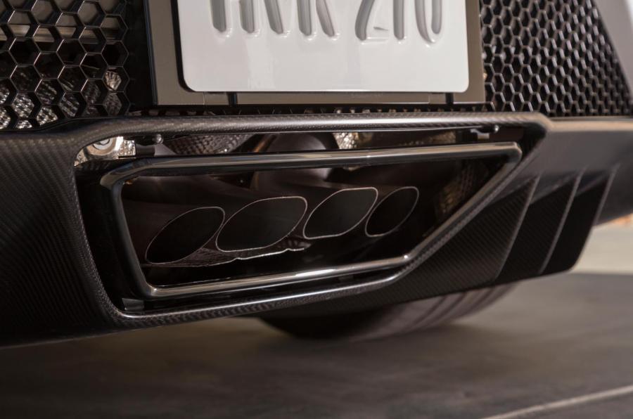 Honda NSX quad-exhausts
