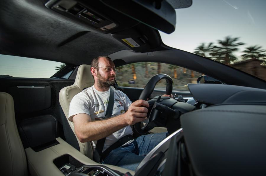 Driving the Honda NSX