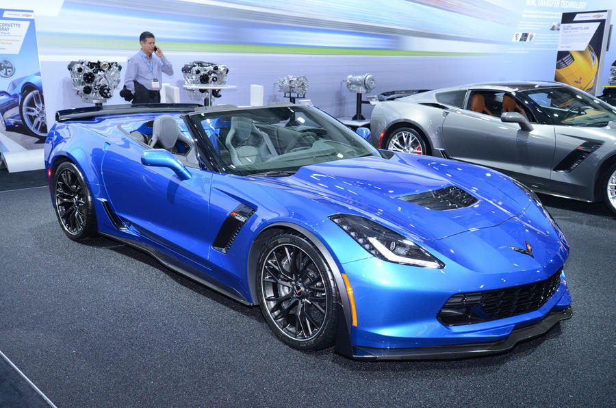 625bhp for Convertible Corvette Z06