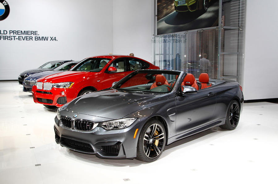 BMW M4 convertible revealed with 425bhp