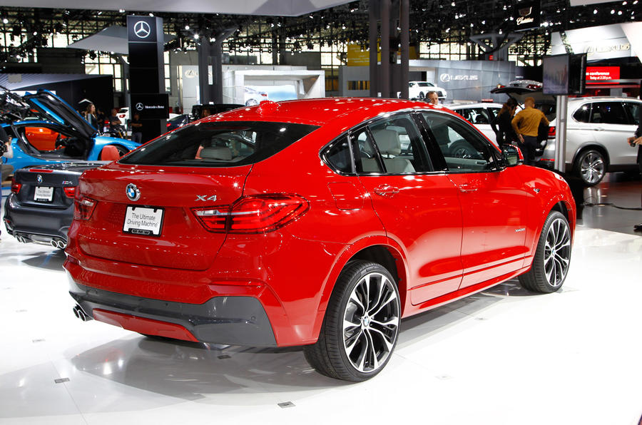 New BMW X4 to kick off BMW's 2014 SUV offensive