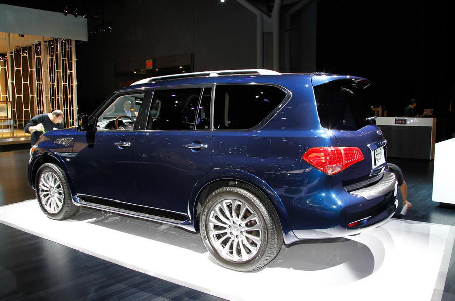 Infiniti QX80 revealed at New York show