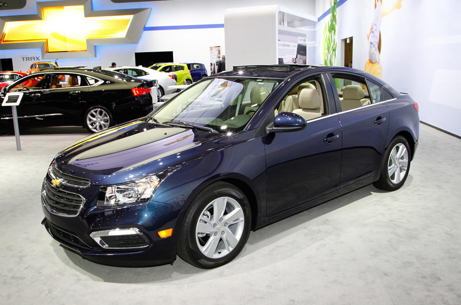 New tech for updated Chevrolet Cruze