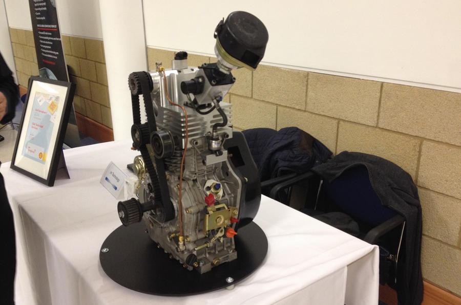 Self-supercharging engine in development
