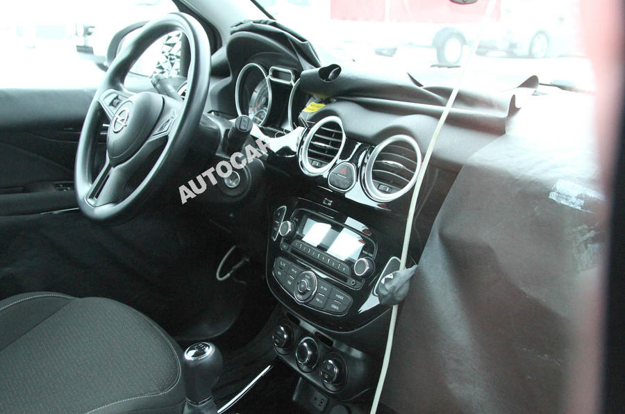 Vauxhall Allegra interior: first look