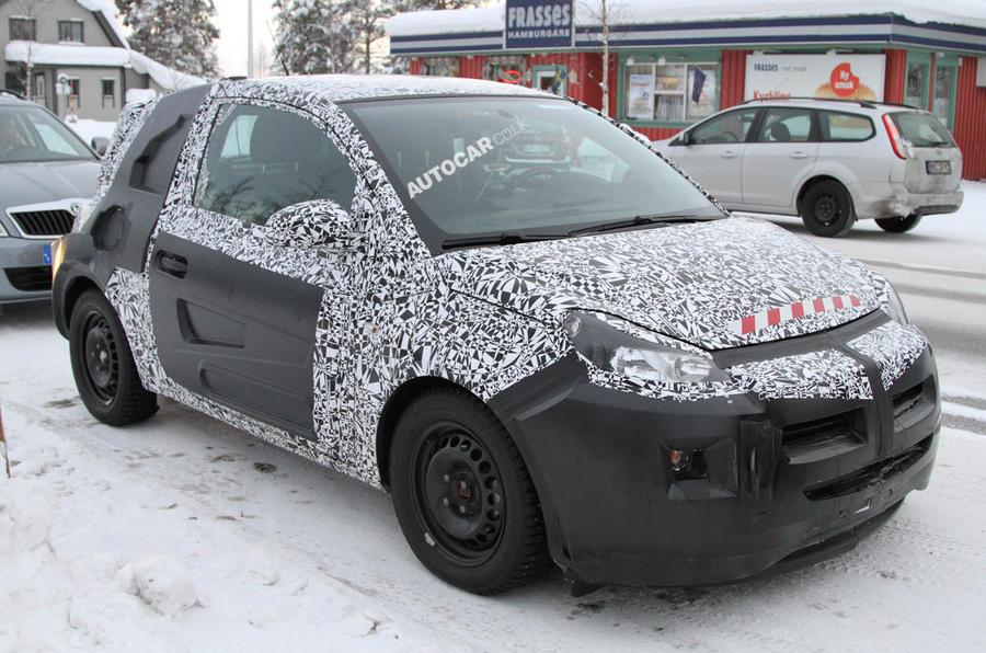 Vauxhall Allegra interior: first look