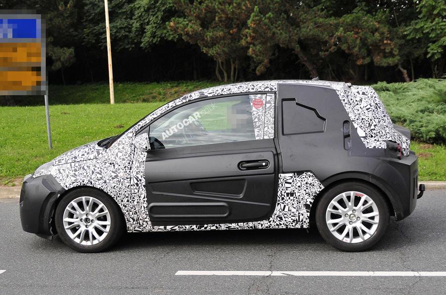 Vauxhall Junior – new spy pics