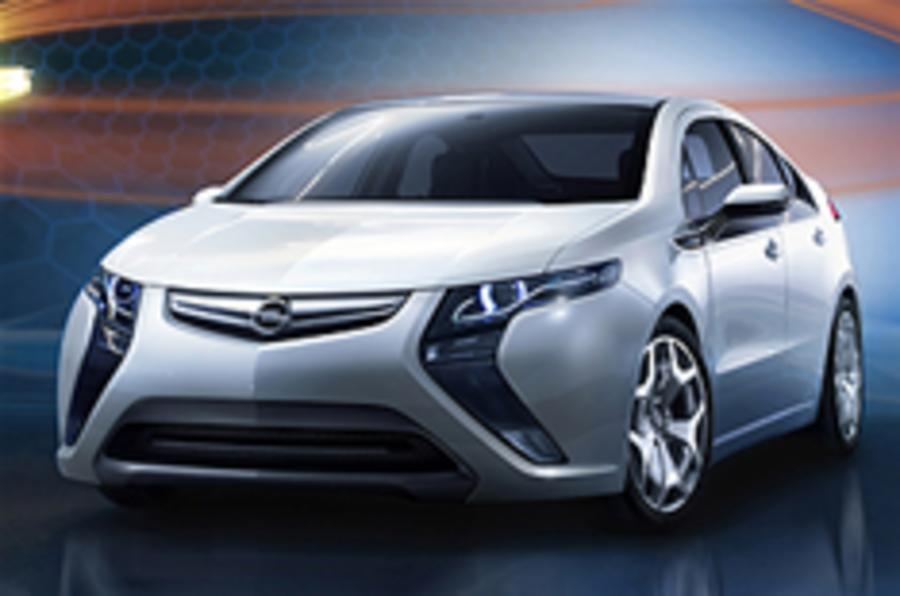 Official pic: Vauxhall Ampera
