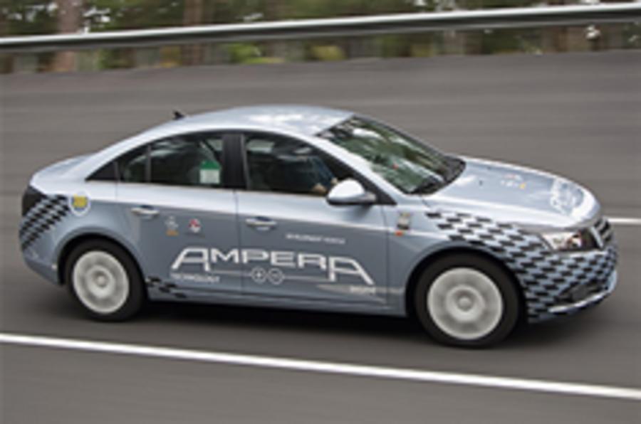 Vauxhall Ampera trials to begin