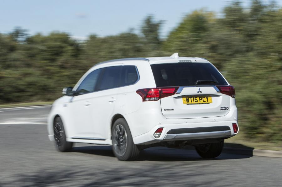 Mitsubishi Outlander PHEV rear
