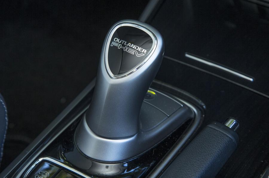 Mitsubishi Outlander PHEV auto gearbox