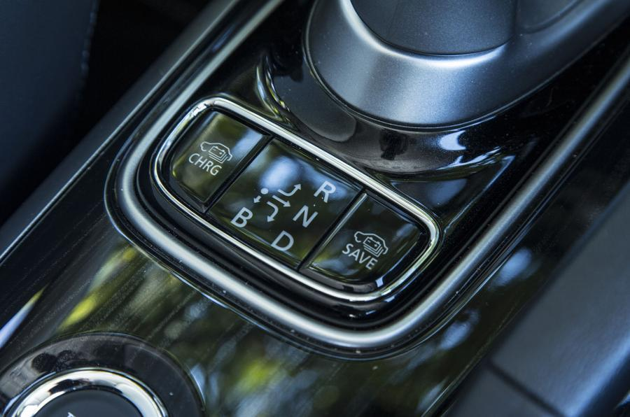 Mitsubishi Outlander PHEV auto transmission