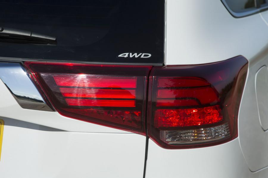 Mitsubishi Outlander PHEV rear lights