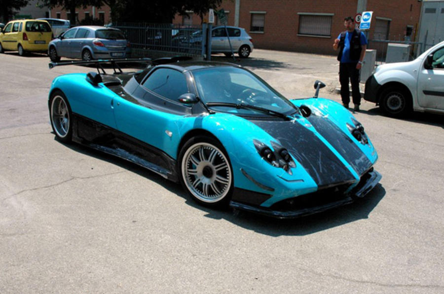 Pagani Zonda Uno revealed