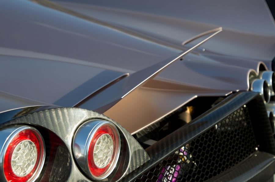 Geneva motor show: Pagani Huayra