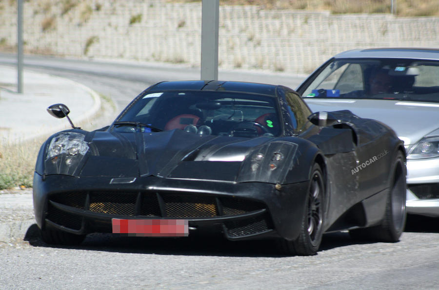 Next Zonda - new spy pics