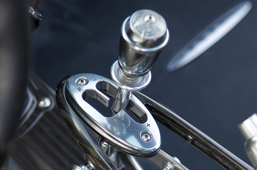 Pagani Huayra manual gearbox