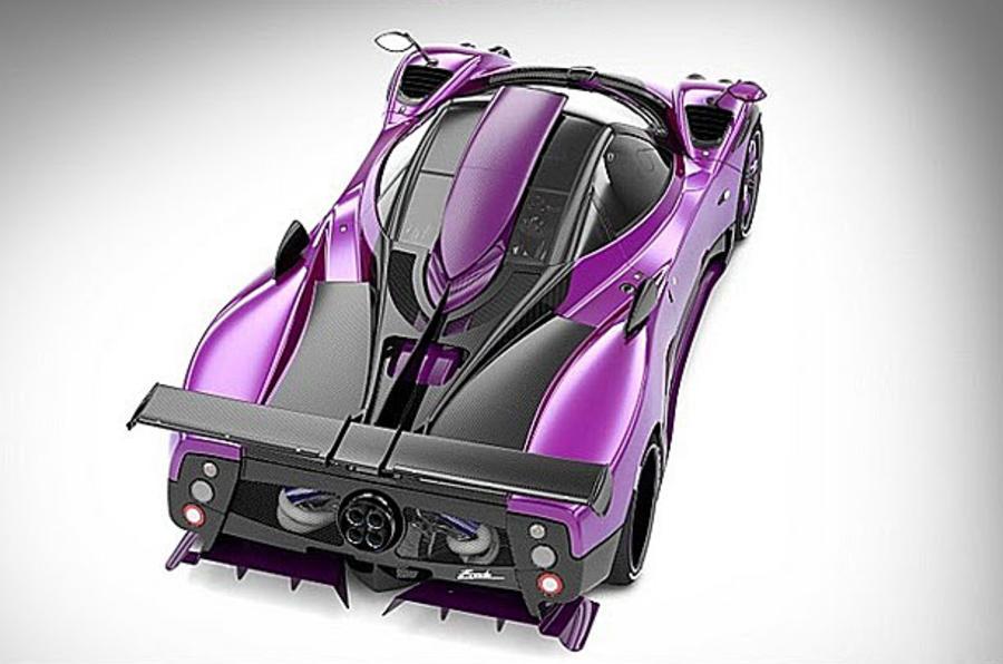 Pagani Zonda 750 revealed