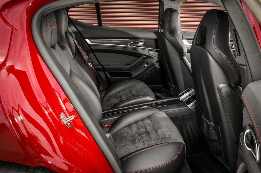 Porsche Panamera GTS rear seats