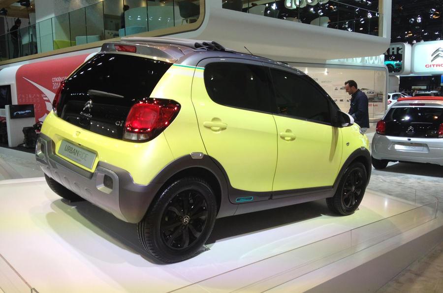 Citroen shows off C1 Urban Ride concept