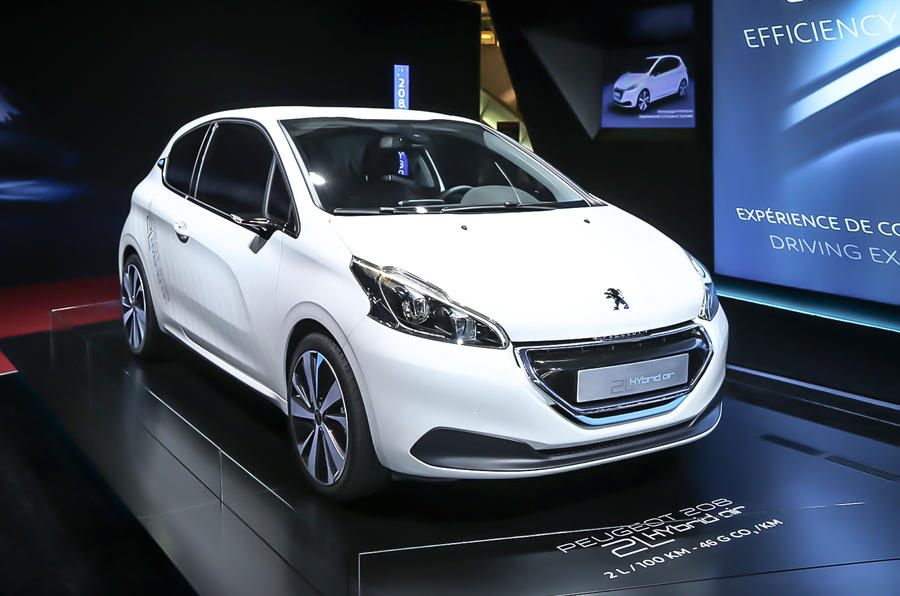 PSA Peugeot Citroen seeks partners for Hybrid Air tech