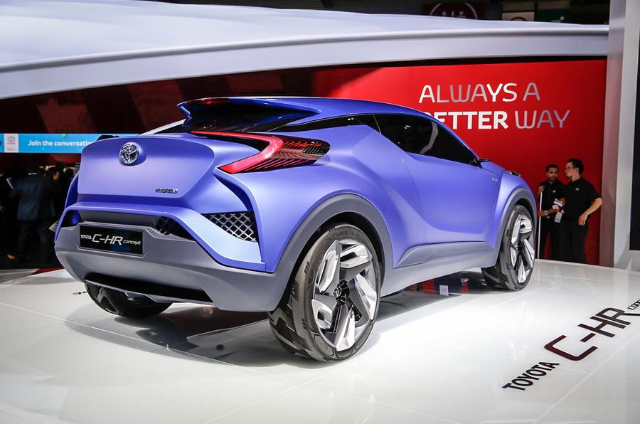 Toyota C HR concept previews potential pact SUV