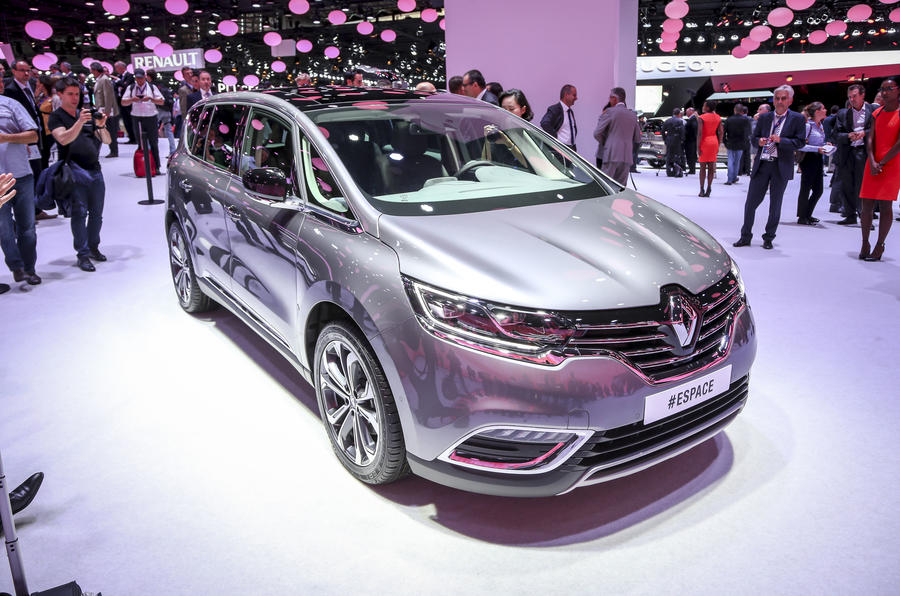 Reinvented Renault Espace revealed