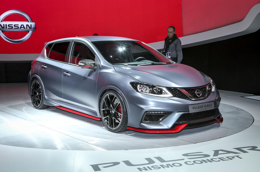 Nissan unveils tuned Pulsar Nismo at Paris motor show