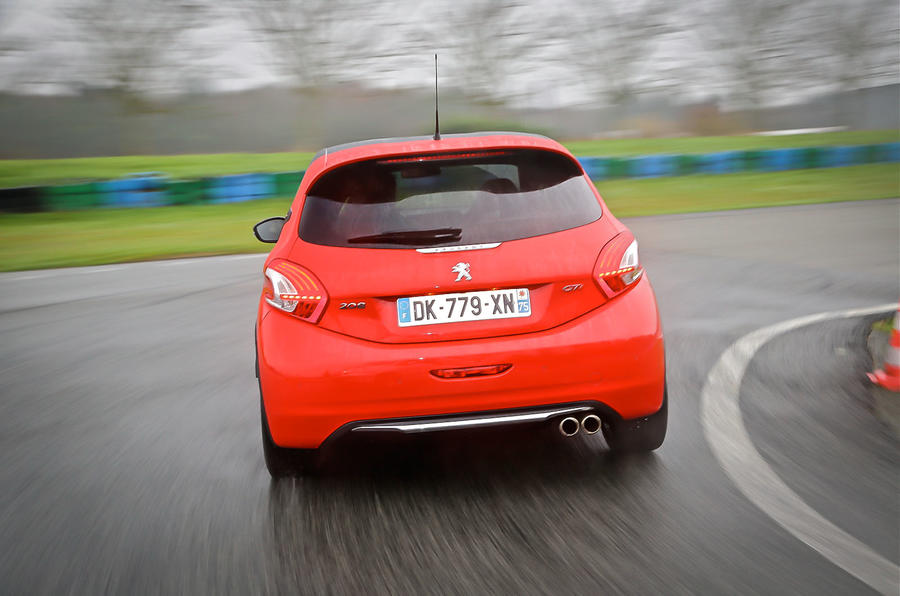 Peugeot 208 GTi 30th Anniversary rear