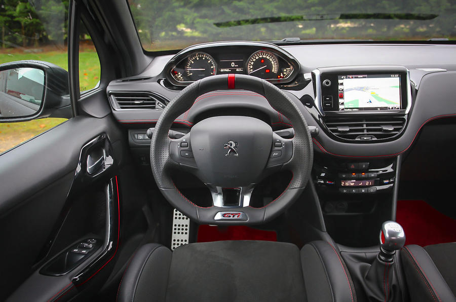 Peugeot 208 GTi 30th Anniversary dashboard