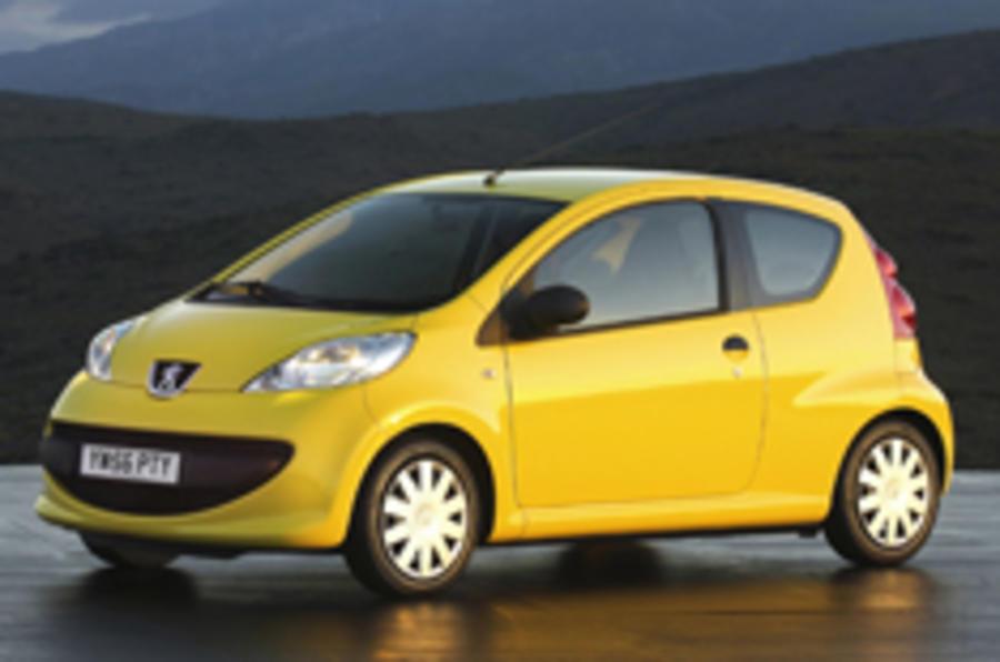£500 off Peugeot 107